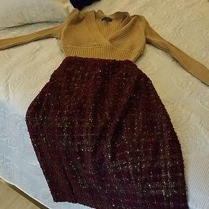 🚨 BUNDLE 🚨INC Sweater & Limited Tweed Skirt